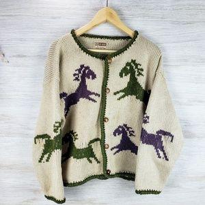Rev Wear Vintage Button Up Sweater